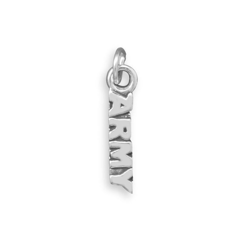 ARMY Charm Sterling Silver - deelytes-com