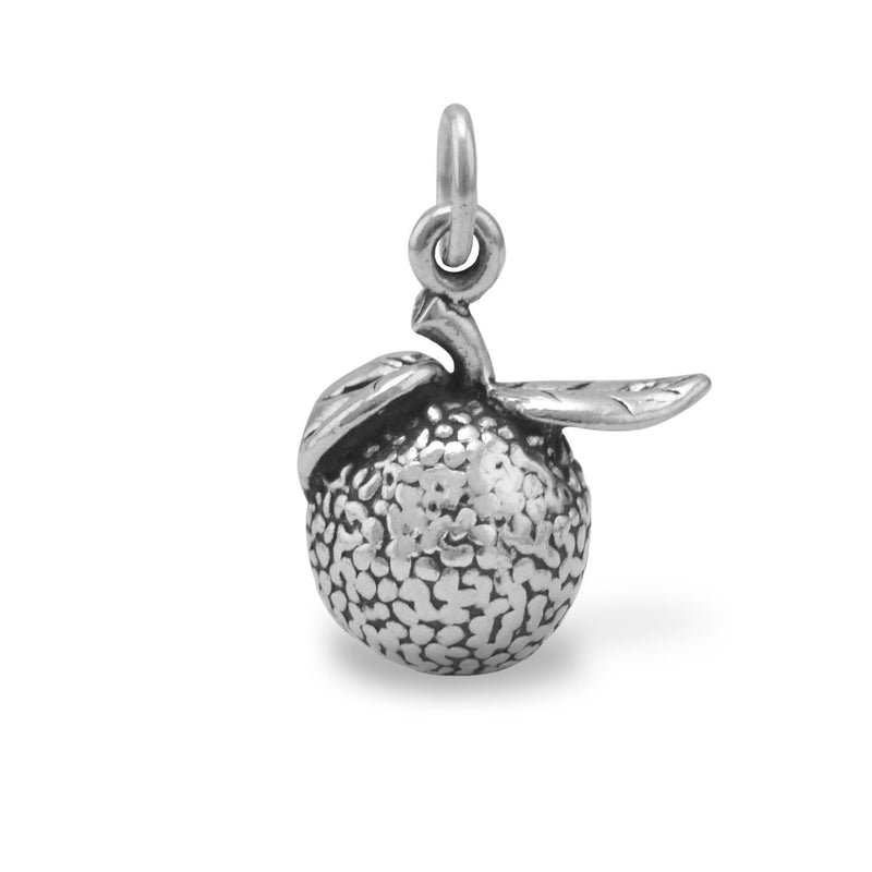 Florida Orange Sterling Silver Charm - deelytes-com