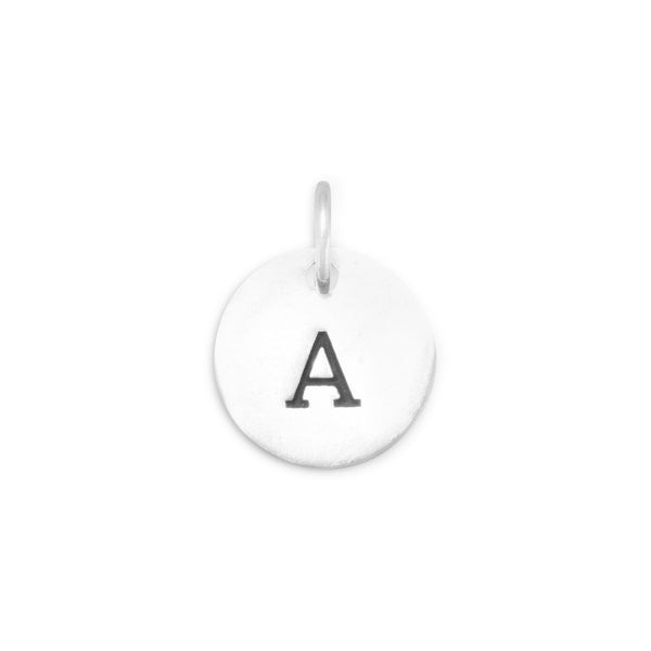 "Initial ""A"" Charm 925 Sterling Silver - deelytes-com"