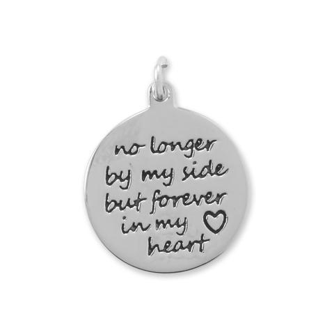 """Forever in My Heart"" Charm - deelytes-com"