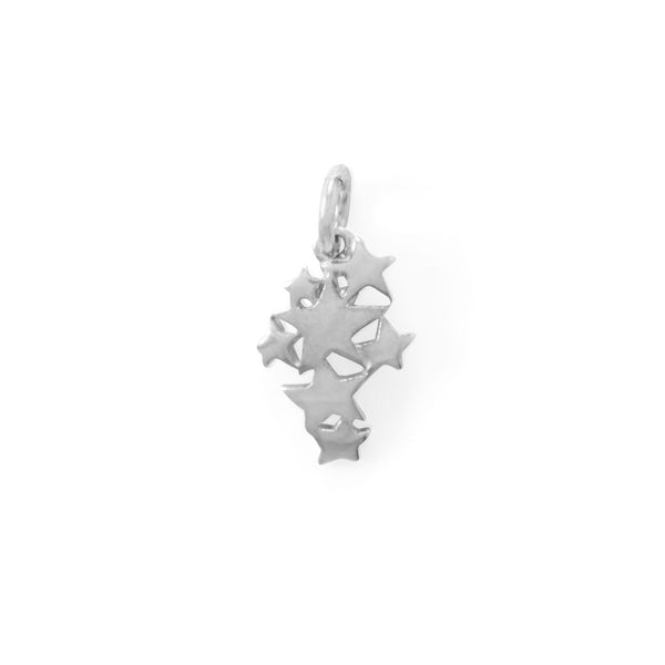 Falling Star Charm Sterling Silver - deelytes-com