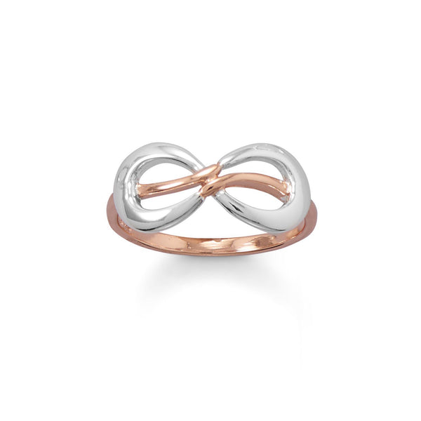 Two Tone Infinity Ring - deelytes-com