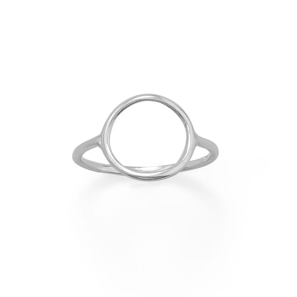 Precious Open Circle Ring - deelytes-com