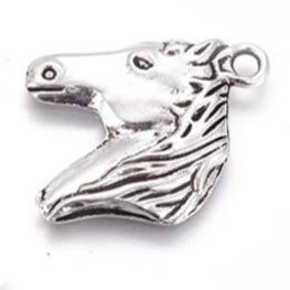 Horse Head Wine Glass Charm Ring, Marker - deelytes-com