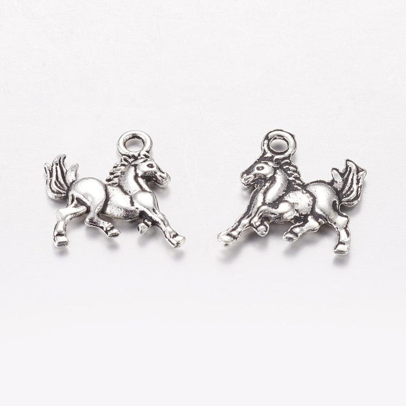 Horse Themed, Western Themed Wine Glass Charm Ring Marker 7 Charm Options