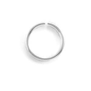 6mm Sterling Silver Open Jump Rings (Package of 50) - deelytes-com