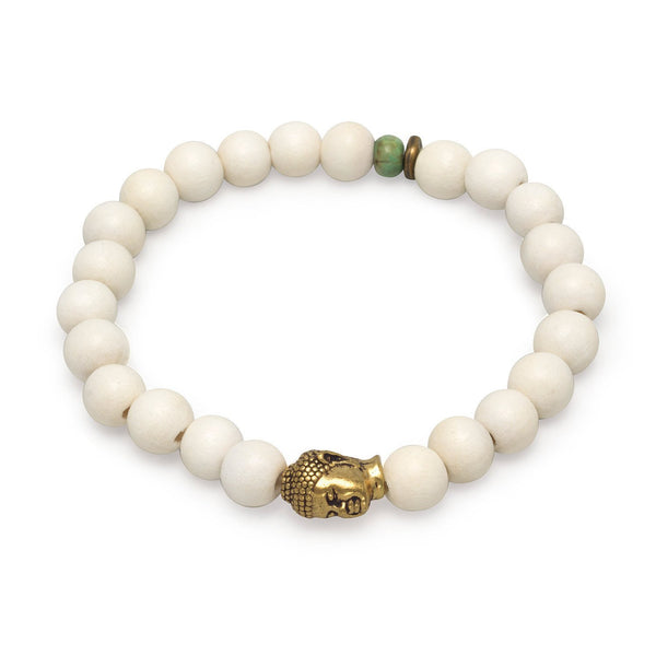 Fashion Stretch Bracelet with Buddha Bead - deelytes-com