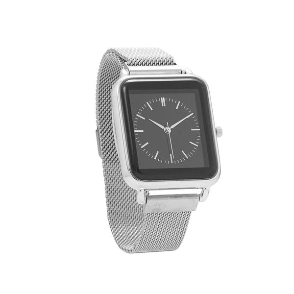 Silver Magnetic Fashion Watch - deelytes-com