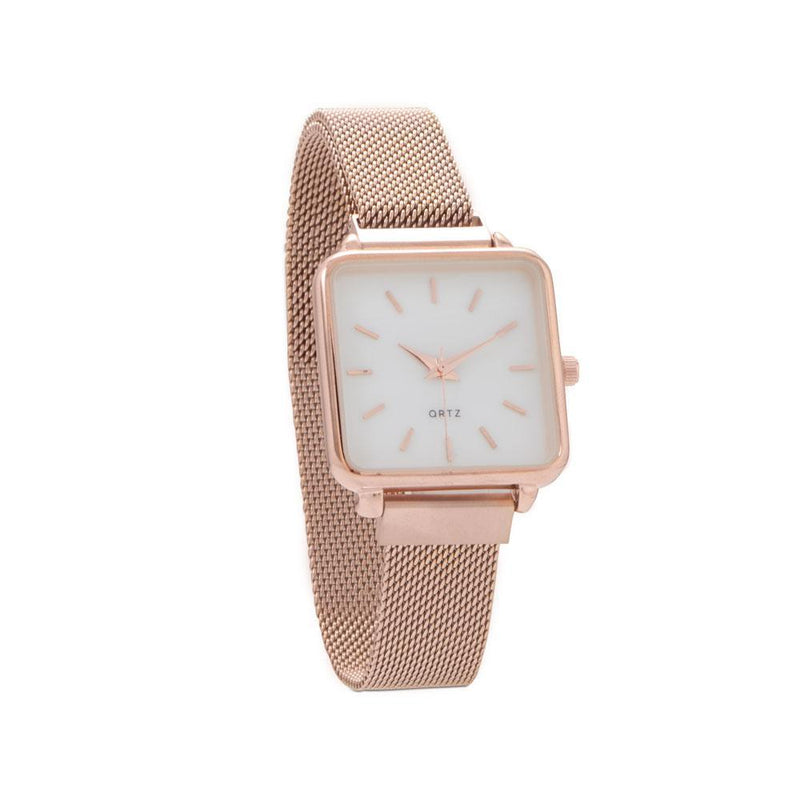 Rose Tone Magnetic Fashion Watch - deelytes-com