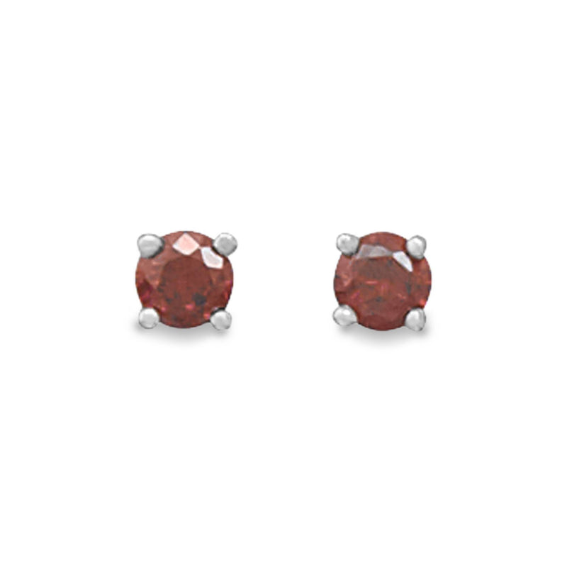 January Birthstone Stud Earrings - deelytes-com