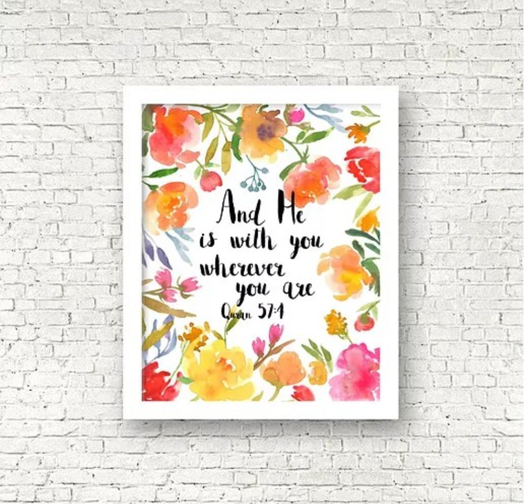 He is with you Print
