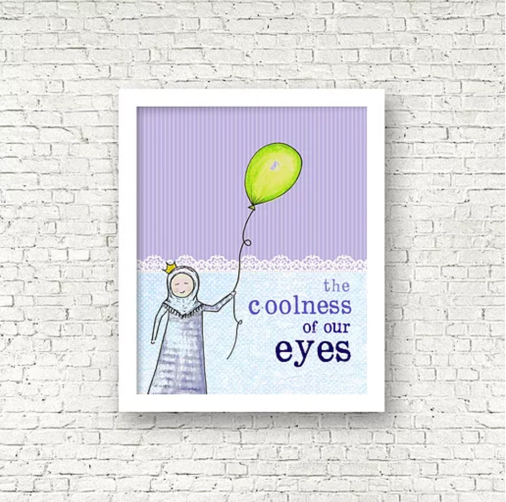 Coolness of our eyes Print
