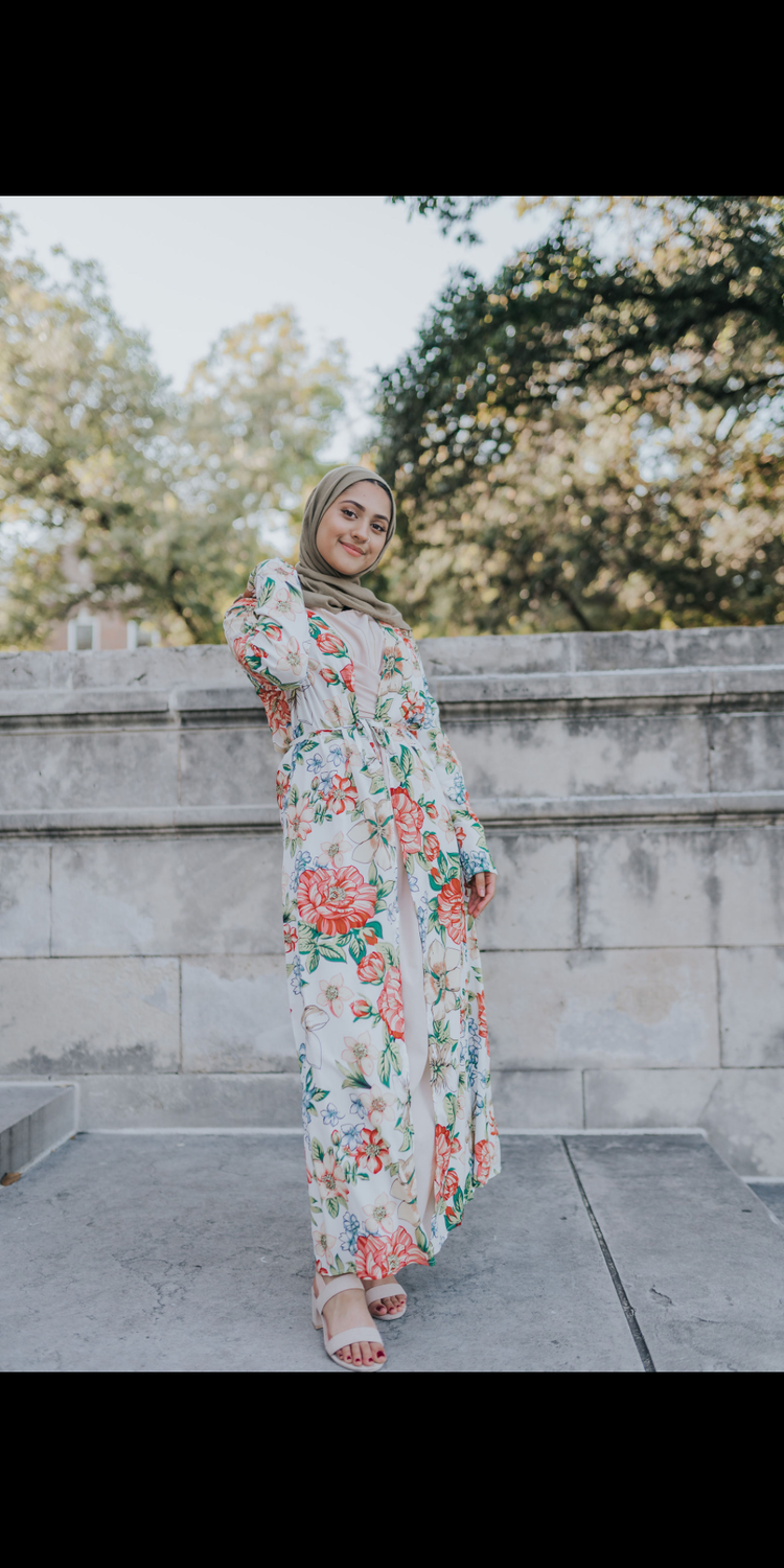 Tropical Maxi Cardigan