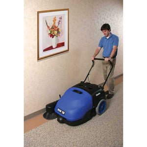 BSW 28 Sweeper - BSW 28 - Whether you are sweeping carpet or hard floor, the BSW 28 Sweeper from Clarke® has the performance for both. This great sweeper is designed to be both rugged and versatile.  Features Batt