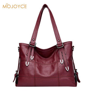 Large Soft Leather Women Handbags Ladies Large Tote Sac