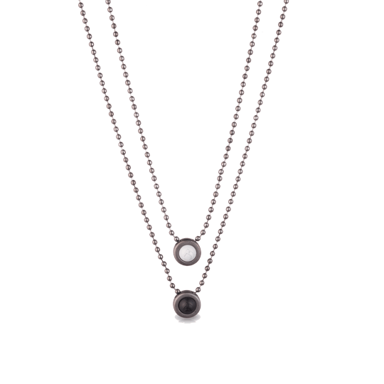 Double Ball Necklace - Slider Image 5