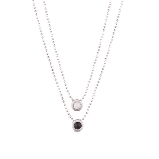 Double Ball Necklace - Slider Image 4