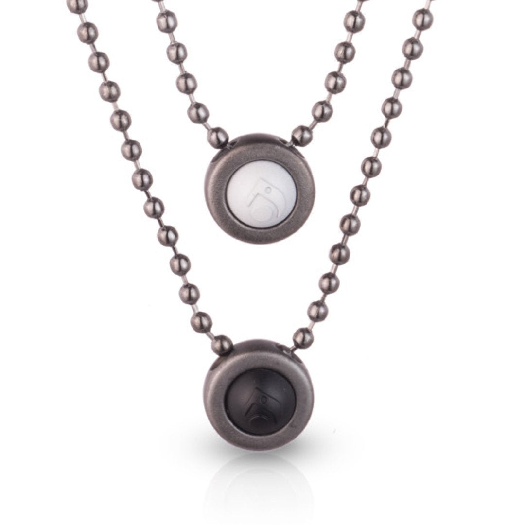 Double Ball Necklace - Slider Image 8
