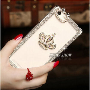 Luxury Crystal Bling Case