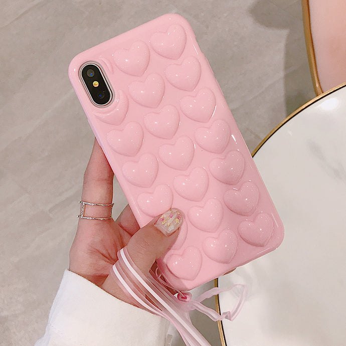 Pink Color Phone Case