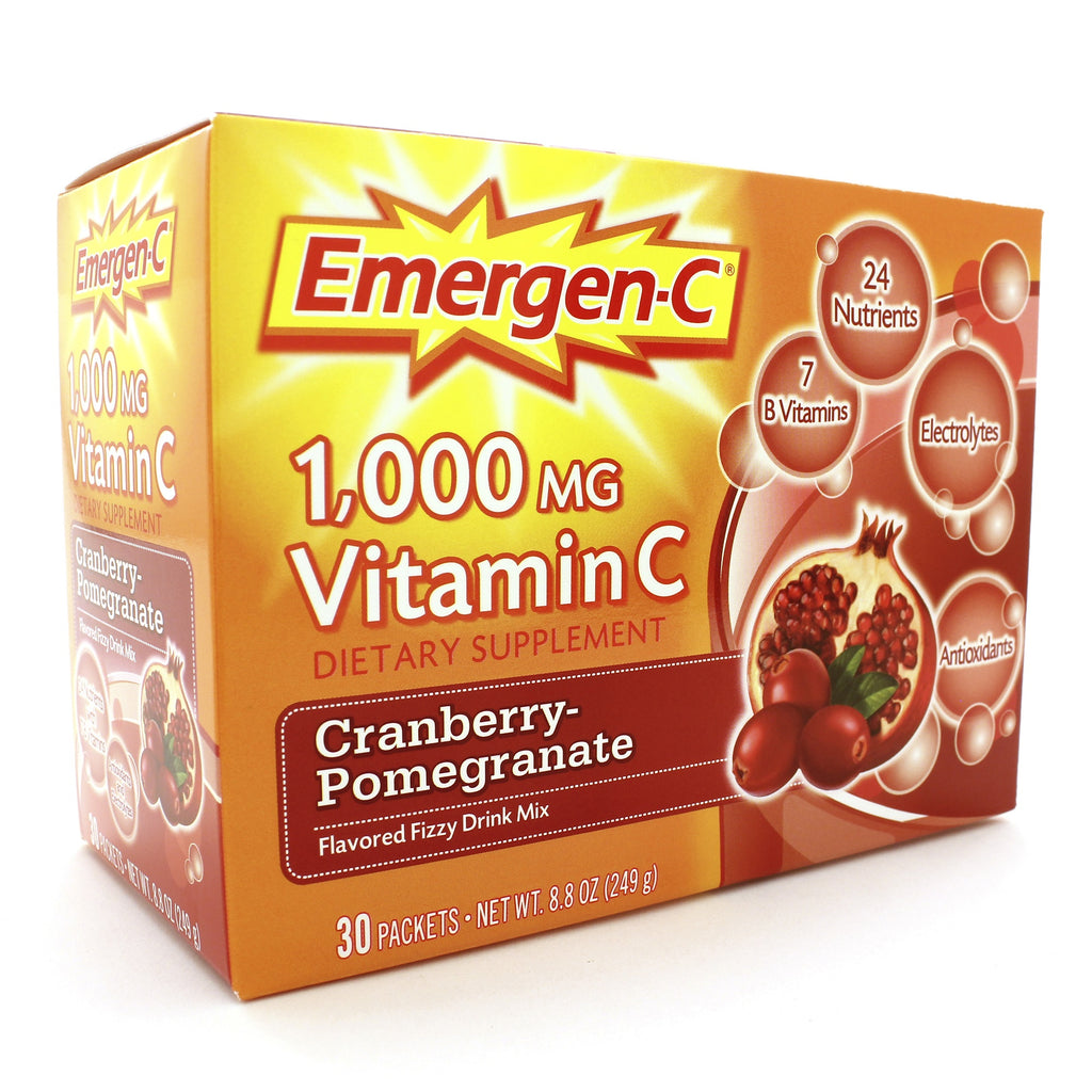 Emergen-C/Cranberry Pomegranate