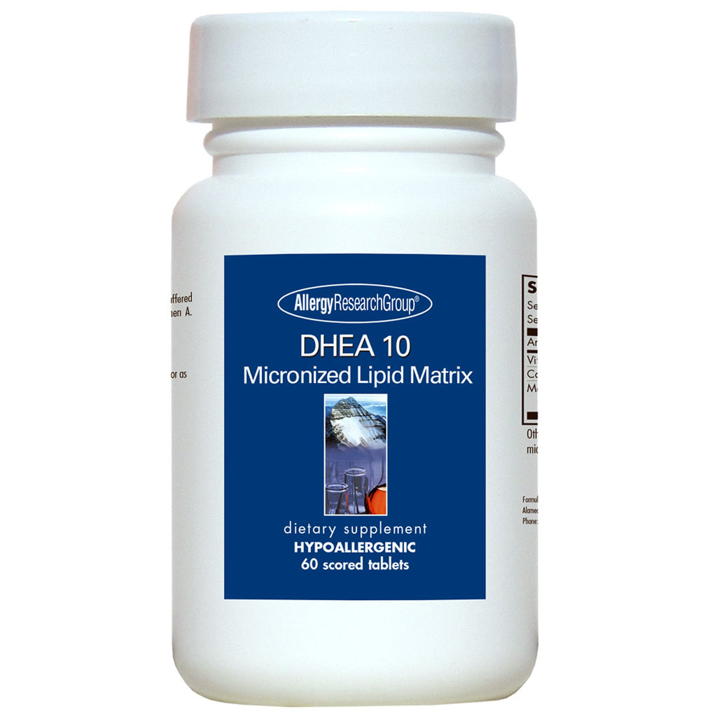 DHEA 10mg Micronized Lipid Matrix