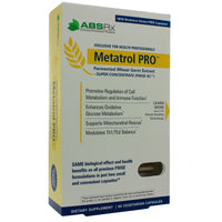 Metatrol Pro Fermented Wheat Germ Extract 60c