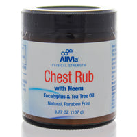 Chest Rub with Neem, Eucalyptus and Tea Tree Oil