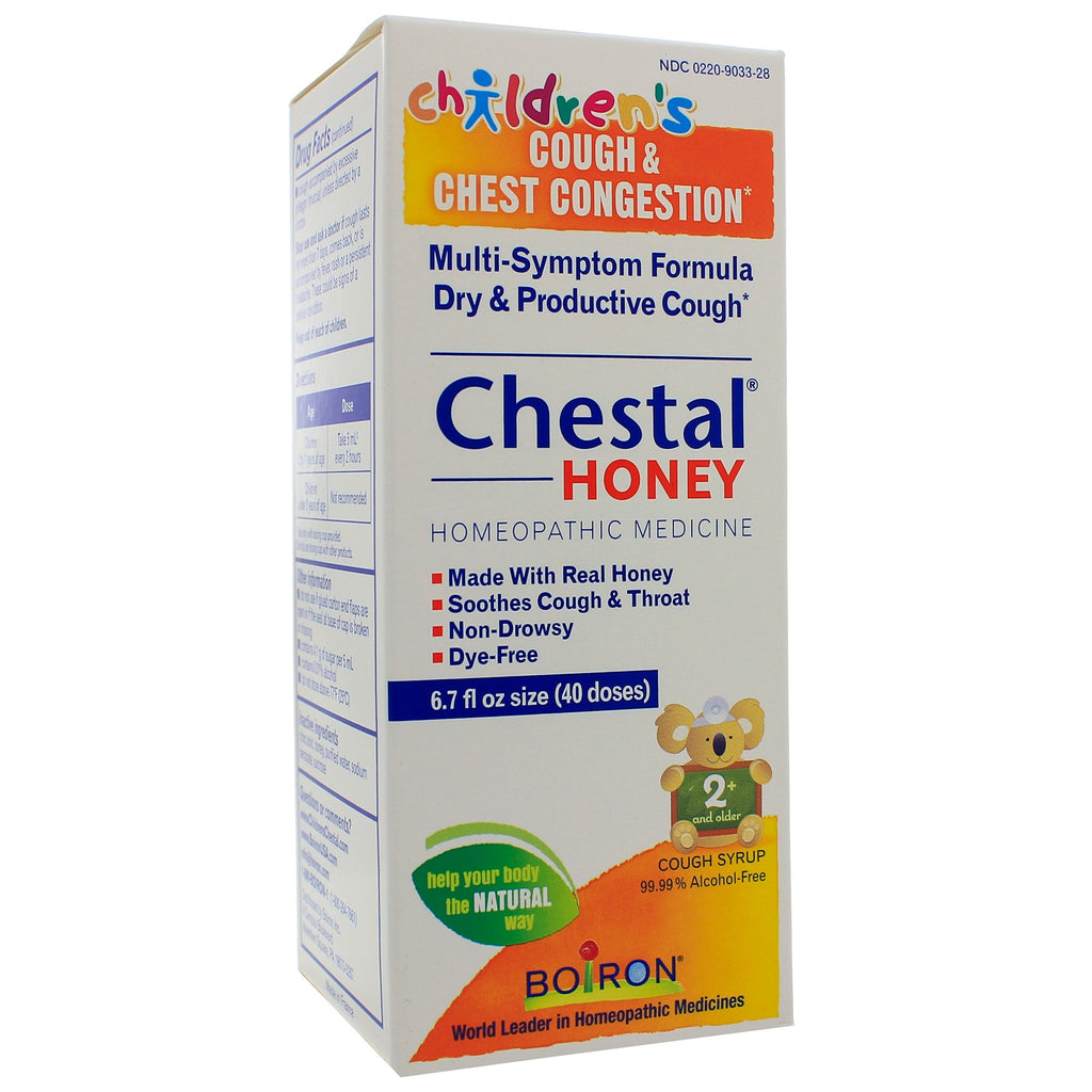 Childrens Chestal Honey Cold & Chest Congestion