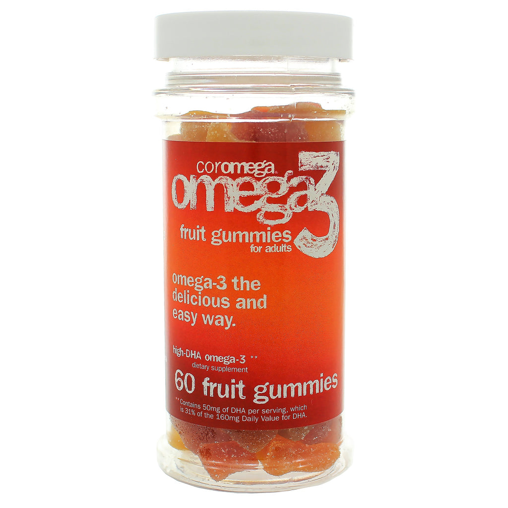DHA Omega-3 Adult Gummy Fruits