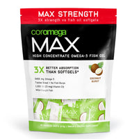Coromega MAX Coconut Bliss
