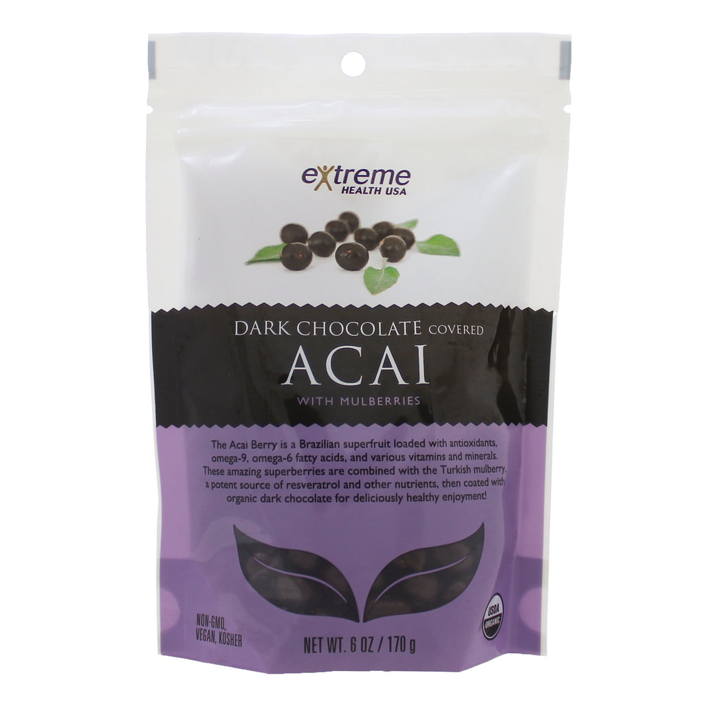 Dark Chocolate Acai w/ Mulberries