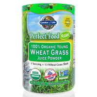 Perfect Food Raw-100% Organic Young Wheat Grass Juice