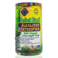Perfect Food Raw-Alkalizer-Detoxifier Organic Powder