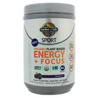 SPORT Organic Pre-Workout Energy + Focus Blackberry