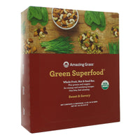Sweet and Savory Green SuperFood Bars