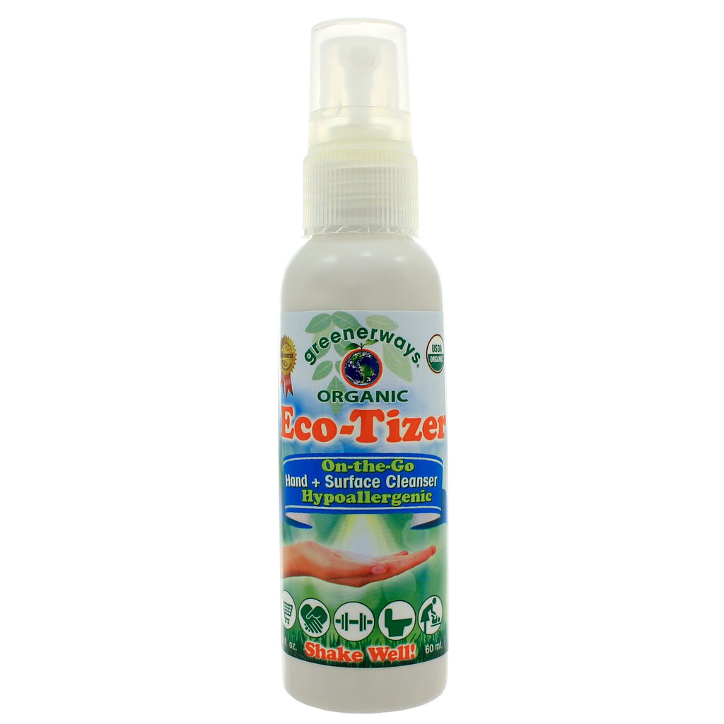 EcoTizer On-the-Go Hand & Surface Cleaner USDA Certified Org