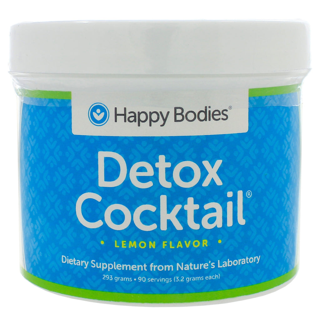 Detox Cocktail Mix Lemon Jar