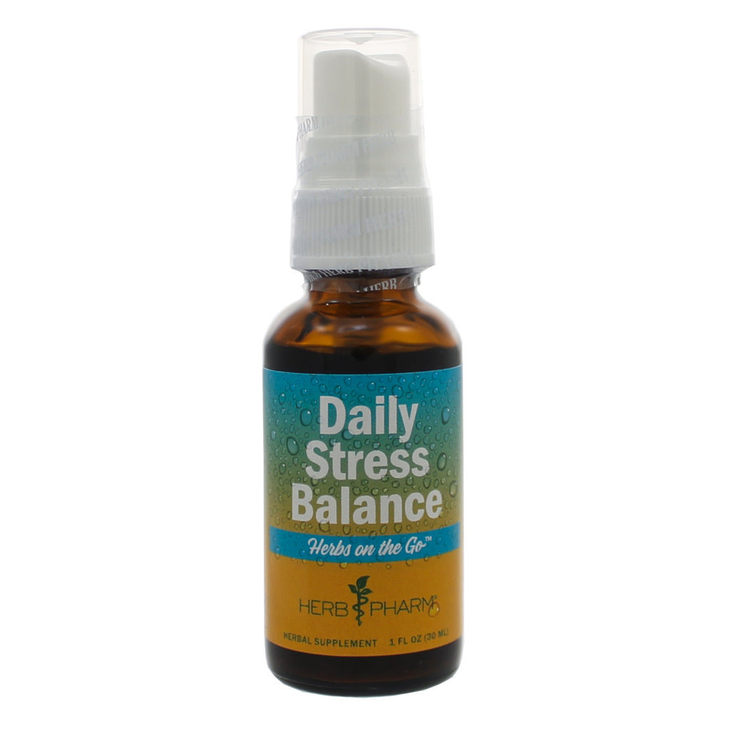 Herbs on the Go: Daily Stress Balance