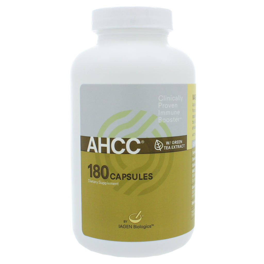 AHCC w/Green Tea Ext 500mg/25mg