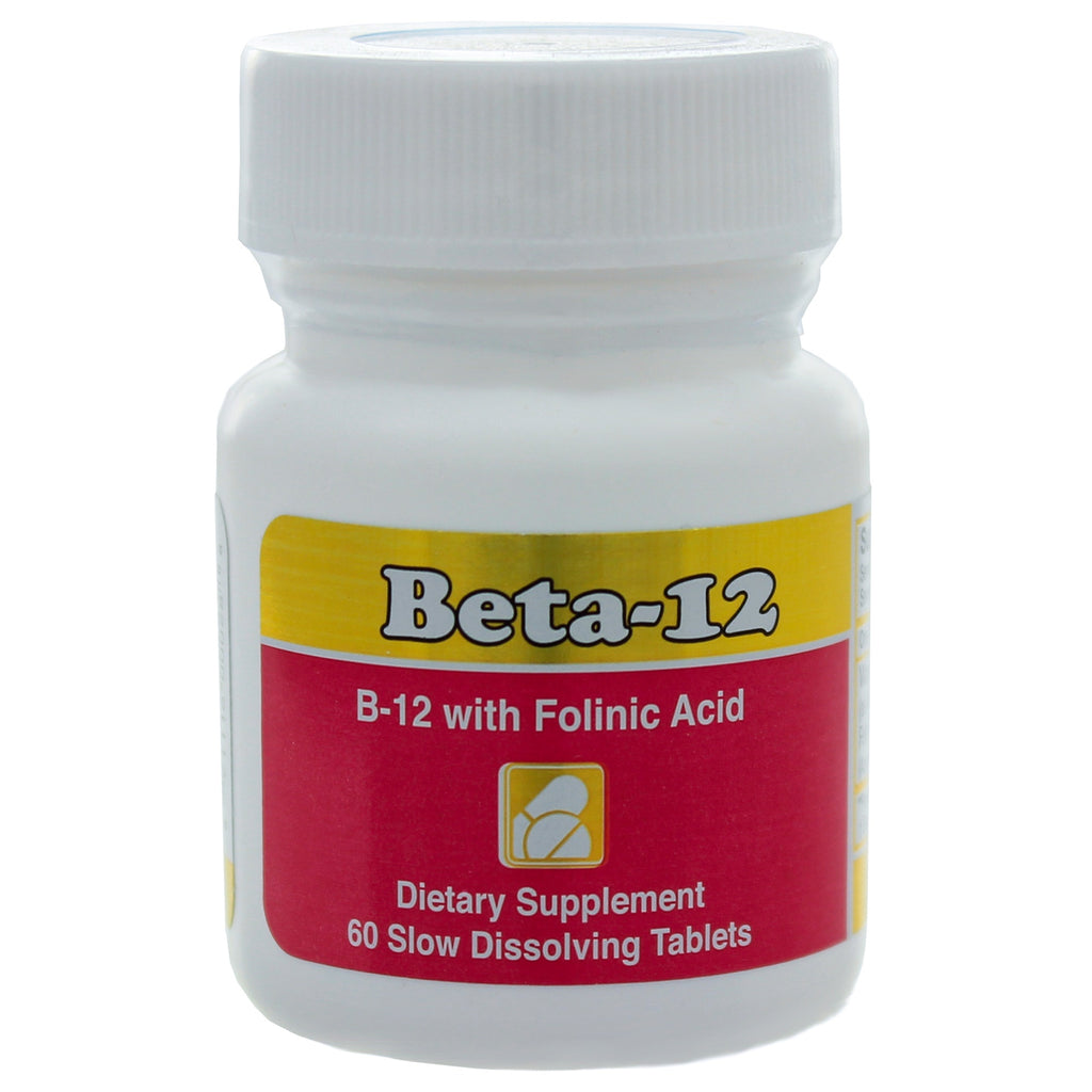 Beta-12, 3mg Methylcobalamin