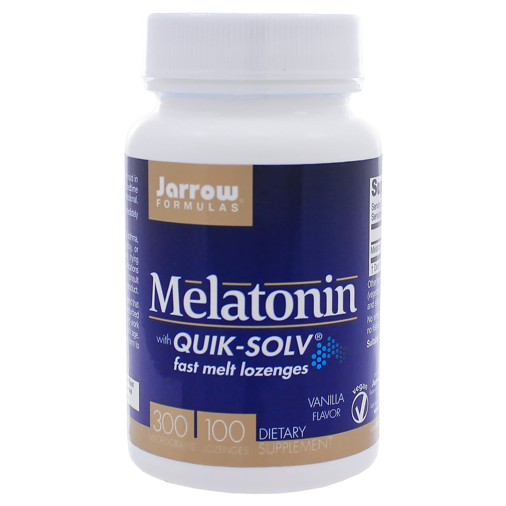 Melatonin with QUIK-SOLV 300mcg