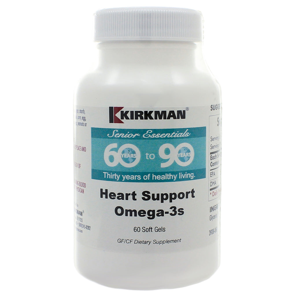 60 to 90 Heart Support Omega 3