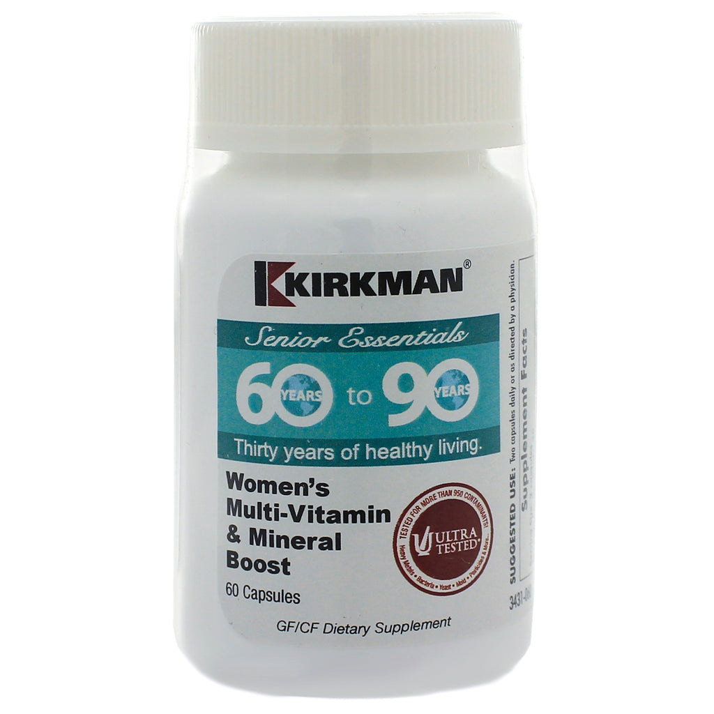 60 to 90 Womens MultiVitamin Mineral Boost