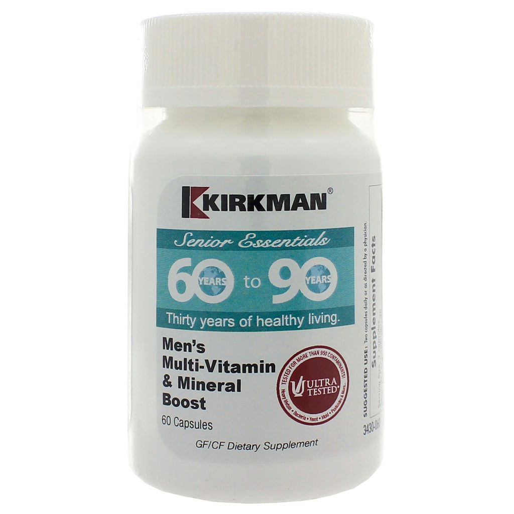 60 to 90 Mens MultiVitamin Mineral Boost