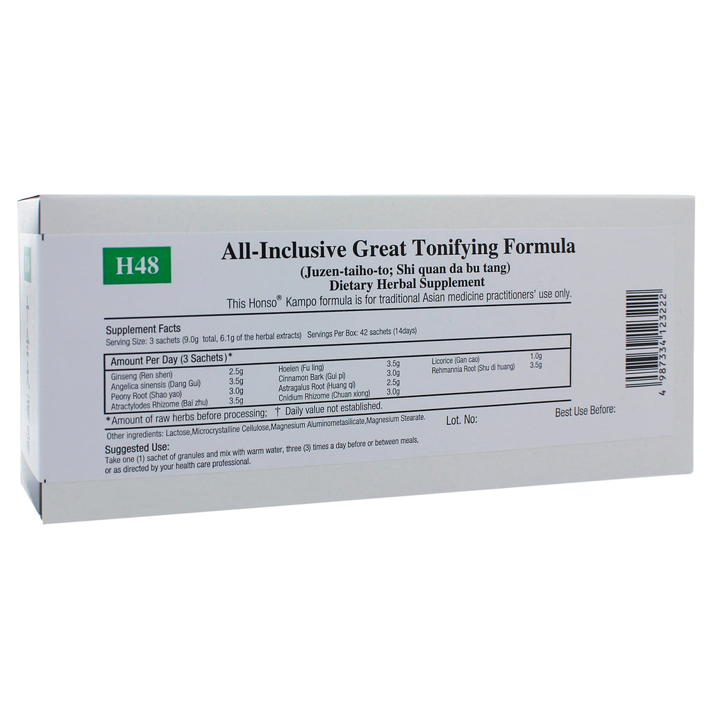 All-Inclusive Great Tonifying (H48) Granules