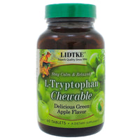 L-Tryptophan Chewable Green Apple