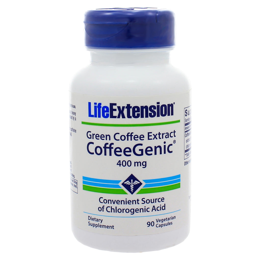 CoffeeGenic Green Coffee Extract 400mg