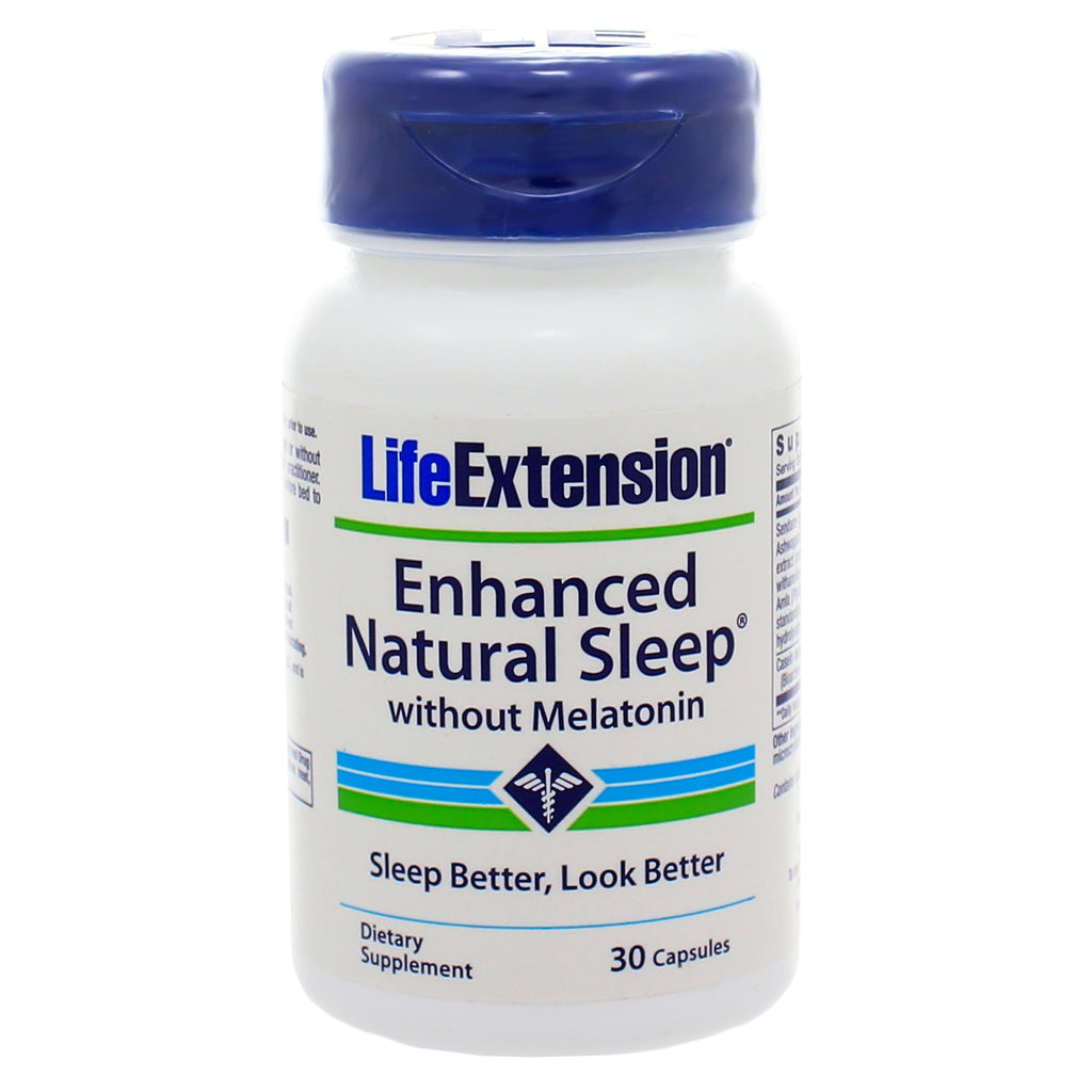 Enhanced Natural Sleep without Melatonin