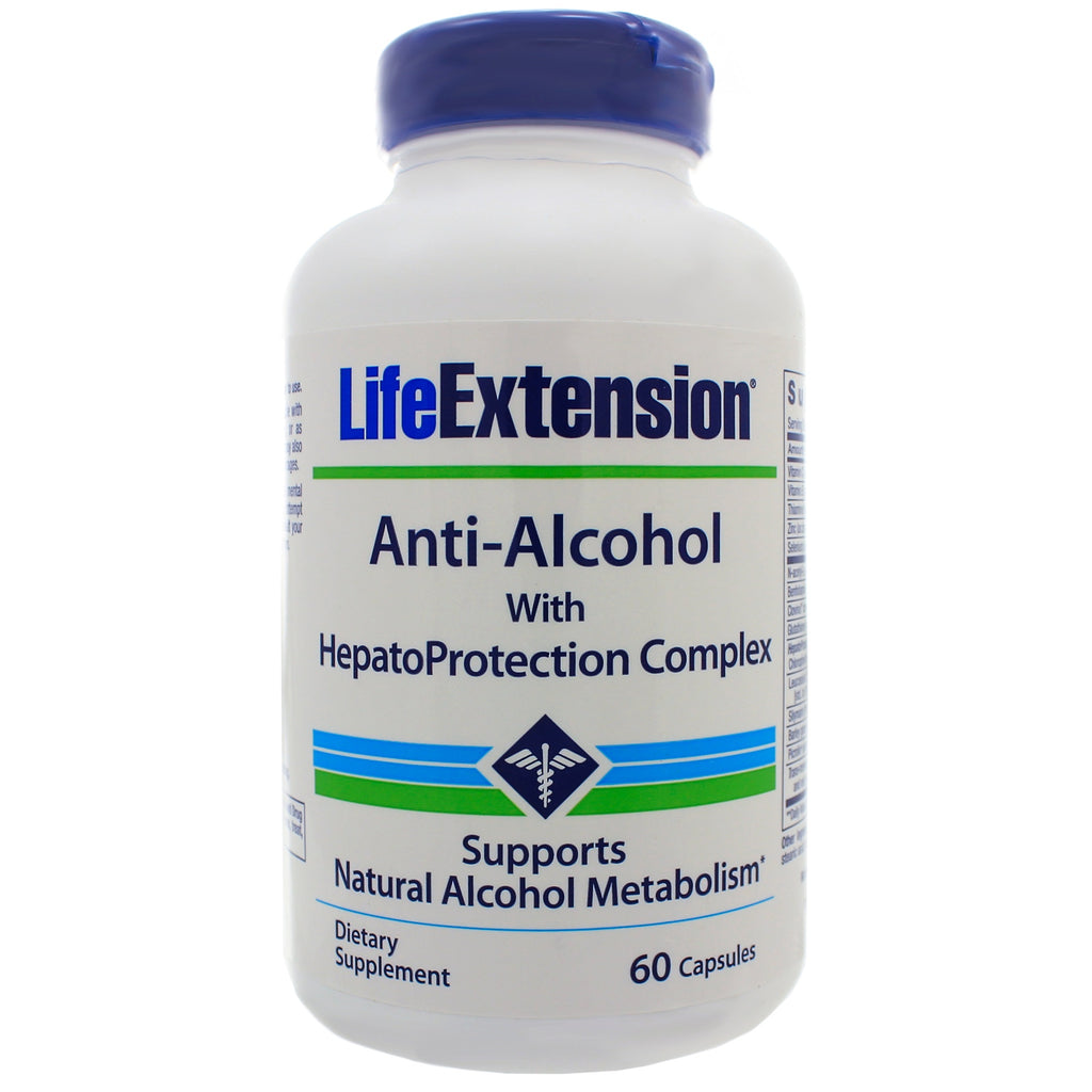 Anti-Alcohol w/Hepato Protection Complex